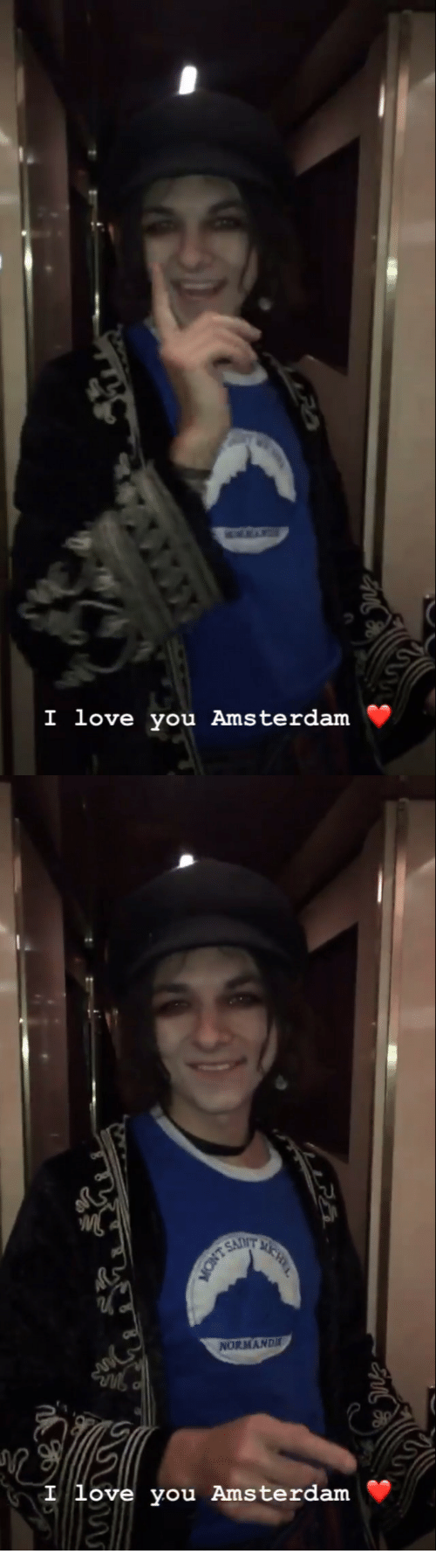 Amsterdam: I love you Amsterdarm   UIT  MAND  I you Amsterdam