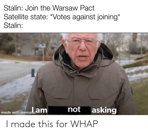 i made this: I made this for WHAP