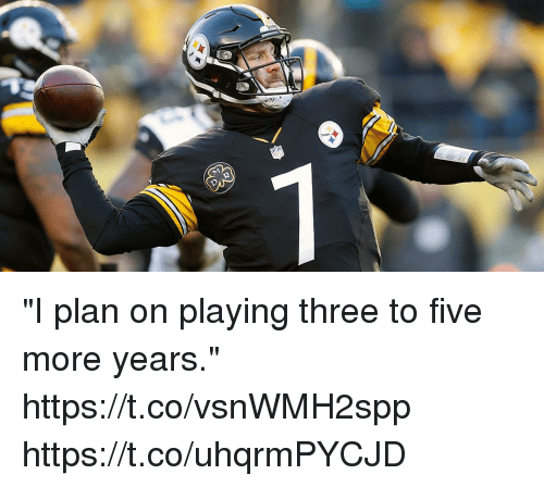 "Memes, 🤖, and Three: ""I plan on playing three to five more years."" https://t.co/vsnWMH2spp https://t.co/uhqrmPYCJD"