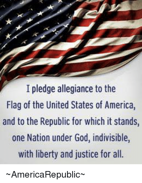 "an argument in favor of taking out the phrase under god from the pledge of allegiance in the united  Congress added the phrase ""under god"" to the pledge argument ""pure poppycock,"" first taking an united states just struck a blow in favor of."