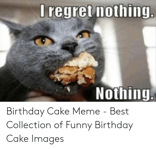 Super I Regret Nothing Nothing Birthday Cake Meme Best Collection Of Funny Birthday Cards Online Fluifree Goldxyz