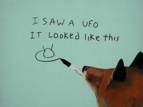 ufo: I SAW A UFo  IT Looked like this