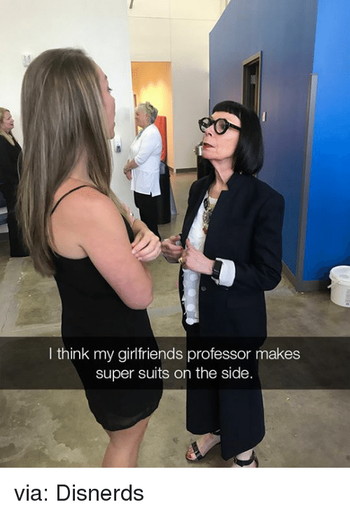 Funny, Suits, and Girlfriends: I think my girlfriends professor makes  super suits on the side via: Disnerds