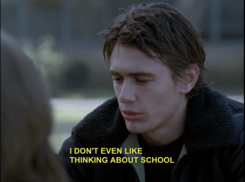 School, Thinking, and Like: IDON'T EVEN LIKE  THINKING ABOUT SCHOOL