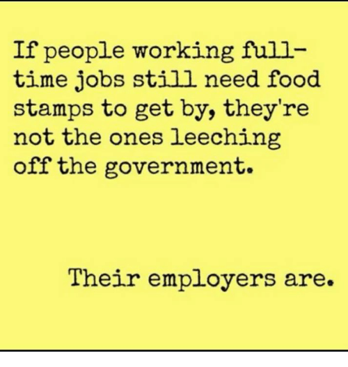 Working People Who Get Food Stamps