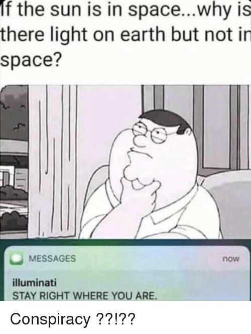 If The Sun Is In Spacewhy Is There Light On Earth But Not In Space