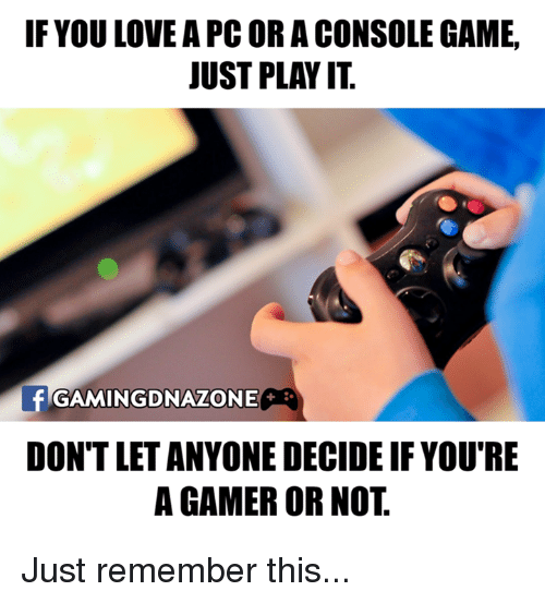 Consolence: IF YOU LOVE APCORA CONSOLE GAME,  JUST PLAY IT  frGAMINGDNAZONE  DONT LETANYONE DECIDE IF YOU'RE  A GAMER OR NOT Just remember this...