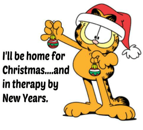 Dank, New Year's, and 🤖: I'll be home for  Christmas... and  in therapy by  New Years.