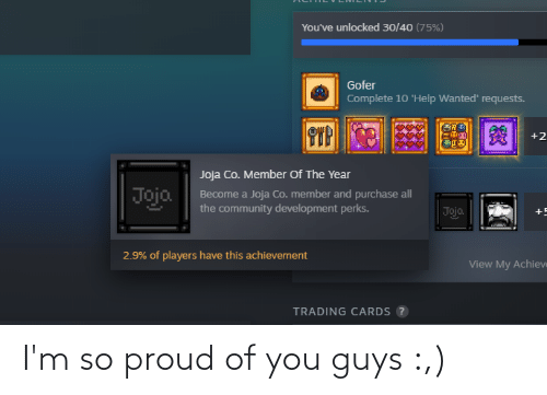 So Proud Of You: I'm so proud of you guys :,)