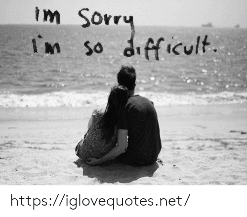Sorry, Net, and Href: Im Sorry  In so difficult https://iglovequotes.net/