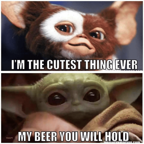 Cutest Thing: I'M THE CUTEST THING EVER  MY BEER YOU WILL HOLD  Cdubs711  momecretoronn.com