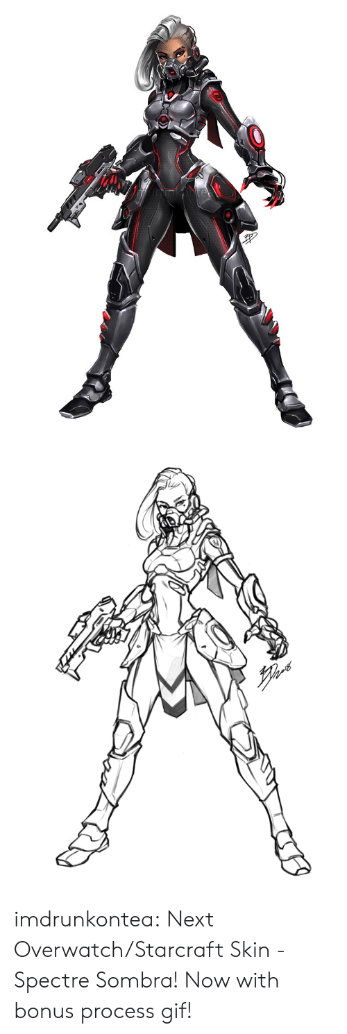 spectre: imdrunkontea:  Next Overwatch/Starcraft Skin - Spectre Sombra! Now with bonus process gif!
