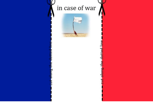 Memes, 🤖, and War: in case of war