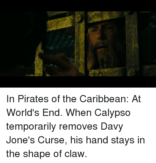 In Pirates of the Caribbean at World's End When Calypso