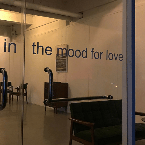 Love, Mood, and For: in  the mood for love