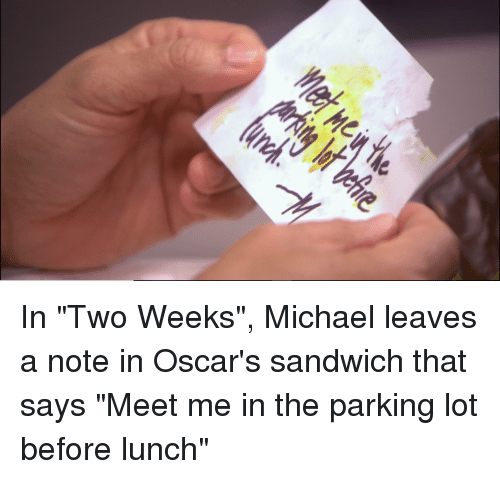 Oscars, The Office, and Michael