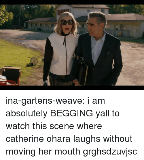 Target, Tumblr, and Weave: ina-gartens-weave:  i am absolutely BEGGING yall to watch this scene where catherine ohara laughs without moving her mouth grghsdzuvjsc