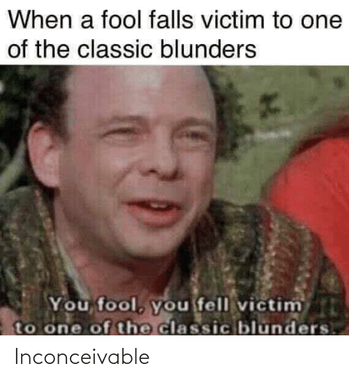 inconceivable: Inconceivable