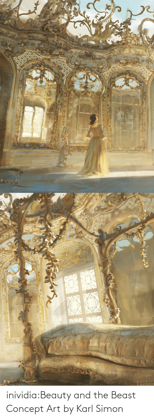 concept: inividia:Beauty and the Beast Concept Art by Karl Simon