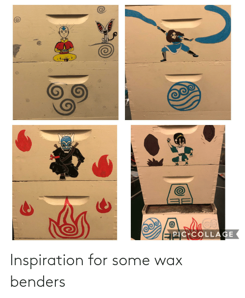 wax: Inspiration for some wax benders