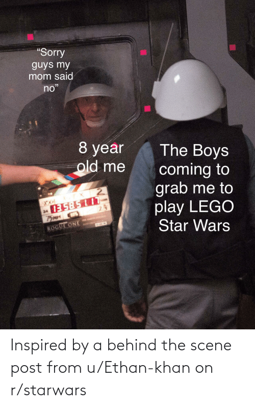 starwars: Inspired by a behind the scene post from u/Ethan-khan on r/starwars