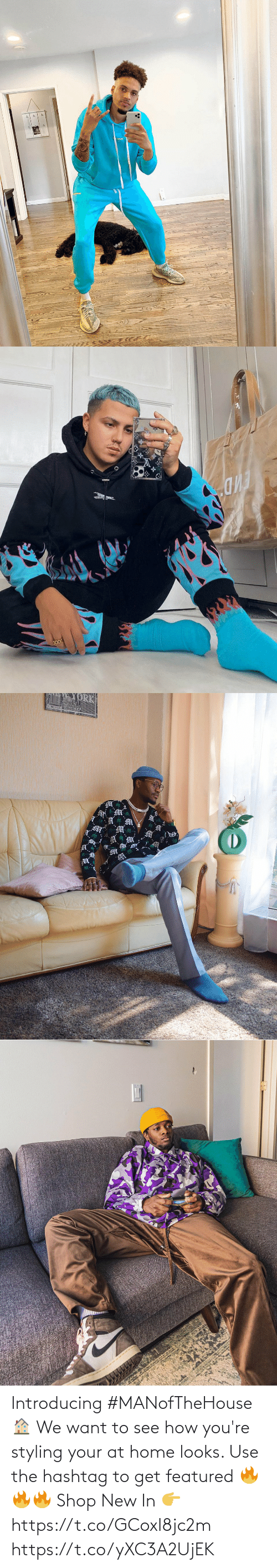 Featured: Introducing #MANofTheHouse 🏠  We want to see how you're styling your at home looks. Use the hashtag to get featured 🔥🔥🔥  Shop New In 👉 https://t.co/GCoxI8jc2m https://t.co/yXC3A2UjEK