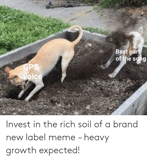 brand new: Invest in the rich soil of a brand new label meme – heavy growth expected!