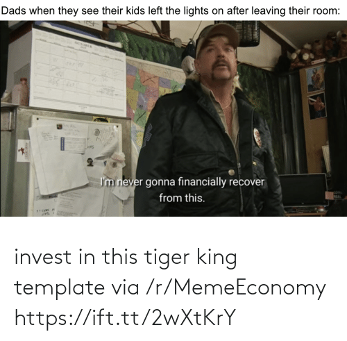 invest: invest in this tiger king template via /r/MemeEconomy https://ift.tt/2wXtKrY