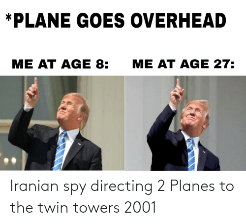 spy: Iranian spy directing 2 Planes to the twin towers 2001