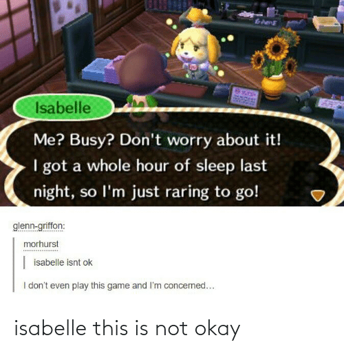 This Is Not Okay: isabelle this is not okay
