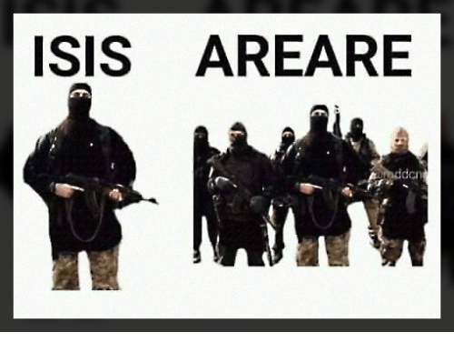 Isis, Memes, and 🤖: ISIS AREARE  den