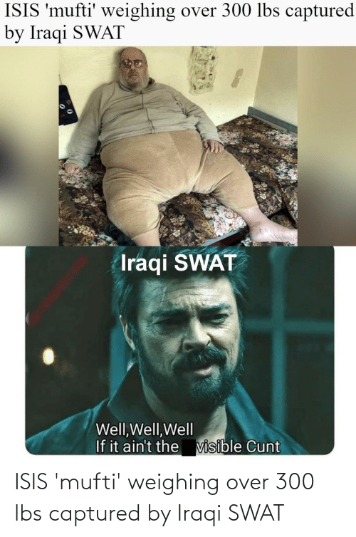 Iraqi: ISIS 'mufti' weighing over 300 lbs captured by Iraqi SWAT