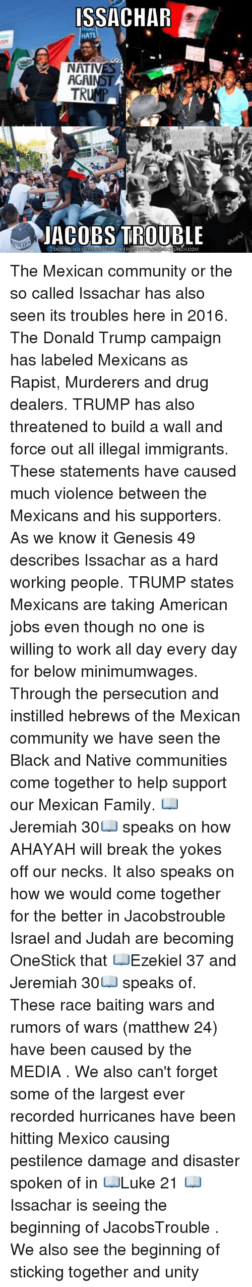 are mexicans taking jobs from americans By jimmy santiago baca o yes do they come on horses with rifles, and say, ese gringo, gimmee your job and do you, gringo, take off your ring, drop your wallet into a.