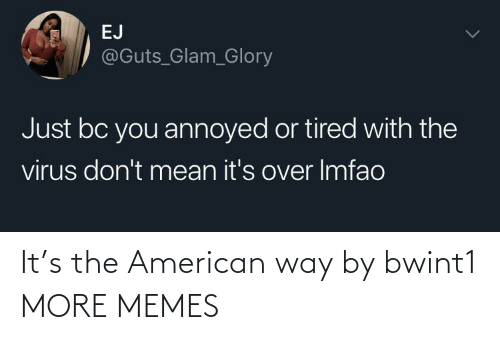 the american: It's the American way by bwint1 MORE MEMES