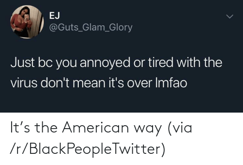the american: It's the American way (via /r/BlackPeopleTwitter)