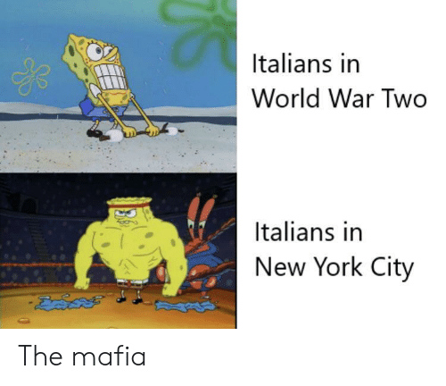 York City: Italians in  World War Two  Italians in  New York City The mafia