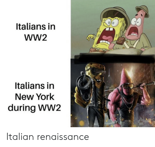 New York, Ww2, and Renaissance: Italians in  wW2  Italians in  New York  during WW2 Italian renaissance