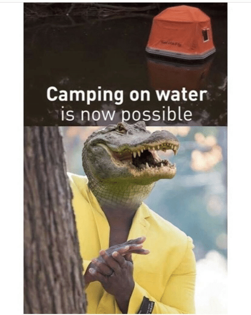 Water, Now, and Possible: itFly  Camping on water  is now possible