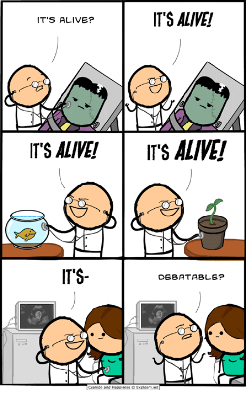 Alive, Dank, and 🤖: IT'S ALIVE!  IT'S ALIVE?  TS ALIVE!ITS ALIVE!  ITS-  DEBATABLE?