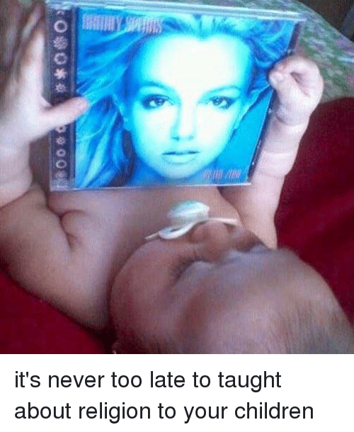 it's never too early to teach