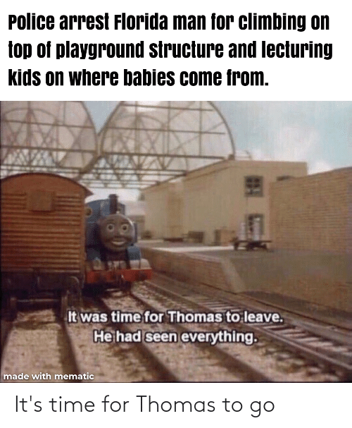 Its: It's time for Thomas to go