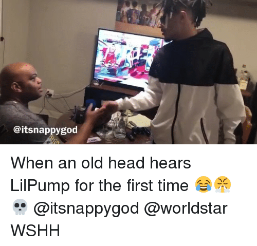 When An Old Head Hears Lilpump For The First Time Wshh Head