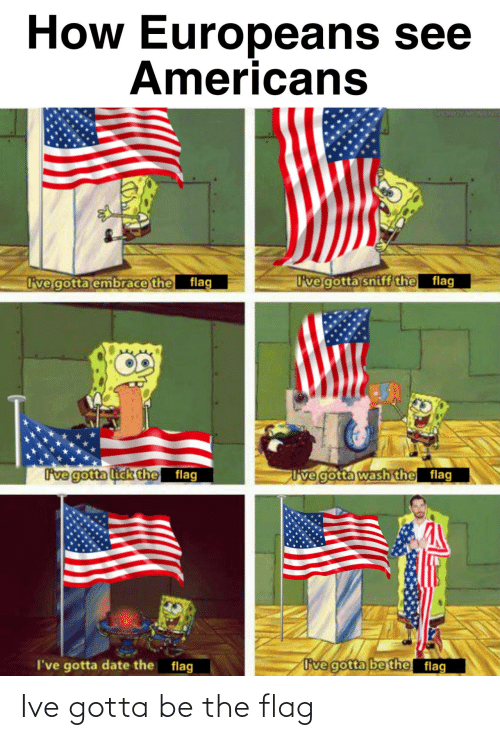 flag: Ive gotta be the flag