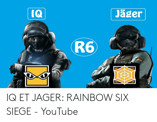 🦅 25+ Best Memes About Jager Rainbow Six Siege | Jager