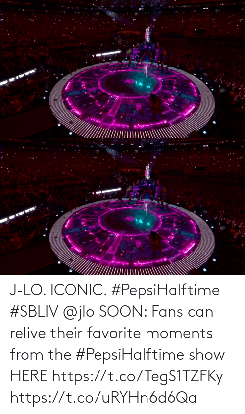 Iconic: J-LO. ICONIC. #PepsiHalftime #SBLIV @jlo   SOON: Fans can relive their favorite moments from the #PepsiHalftime show HERE https://t.co/TegS1TZFKy https://t.co/uRYHn6d6Qa