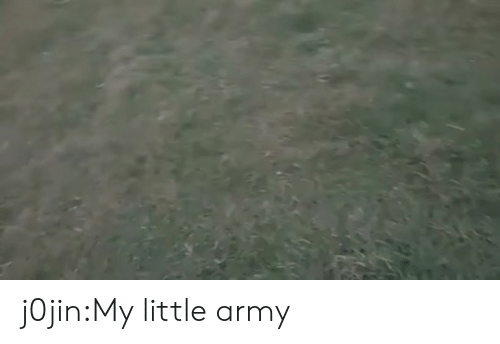 Target, Tumblr, and Army: j0jin:My little army