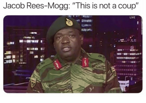 """Memes, Live, and 🤖: Jacob Rees-Mogg:""""This is not a coup""""  LIVE  1181"""