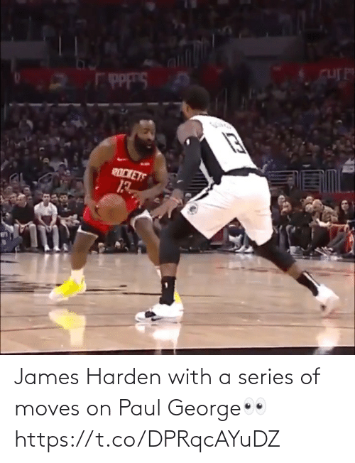 Paul George: James Harden with a series of moves on Paul George👀 https://t.co/DPRqcAYuDZ