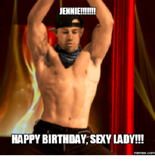 Happy birthday sexy for her