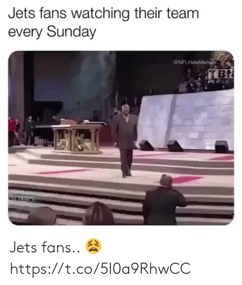 Football, Nfl, and Sports: Jets fans watching their team  every Sunday  NFLHateMemes  TBN Jets fans.. ? https://t.co/5I0a9RhwCC